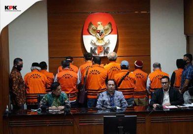 KPK Tahan Sebelas Mantan Anggota DPRD Sumatera Utara