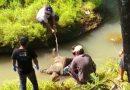 Mayat Tanpa Identitas Ngambang Di Kali Pondok Sambirejo Sragen Jateng.